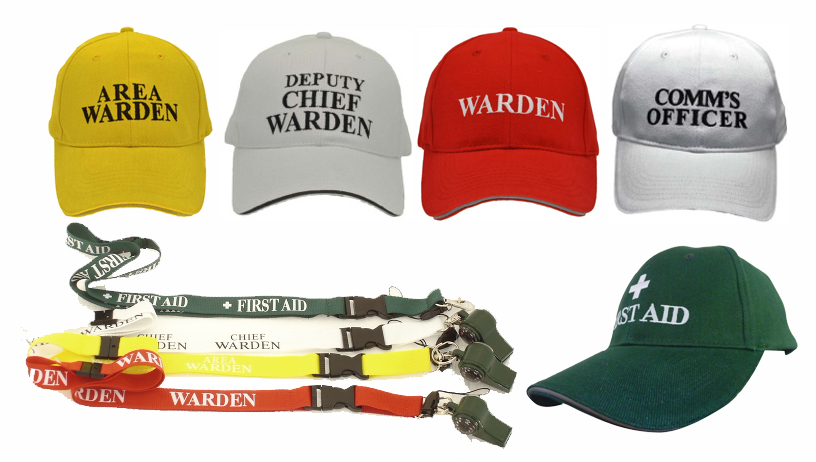 ECO/Warden Baseball Caps & Whistles